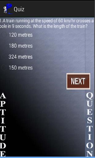 Aptitude Quiz 1.0 screenshots {n} 2