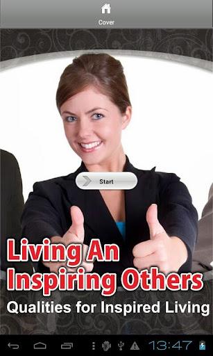 Living An Inspiring Others