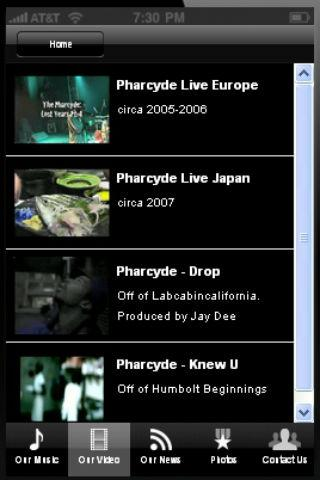 The Pharcyde - screenshot