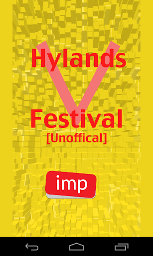 V Festival Hylands [Unofficia]