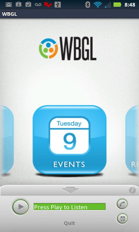 WBGL - screenshot