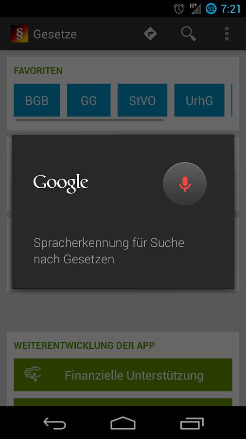 Gesetze – Android-Apps auf Google Play