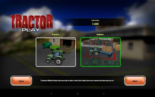 Tractor: Farm Driver - Gold - screenshot thumbnail