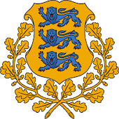 Estonia Coat Arms LWP 3D