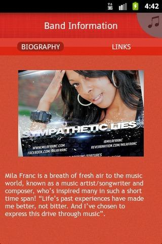 Mila Franc - screenshot