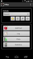 Screenshot of FillUp - Gas Mileage Log