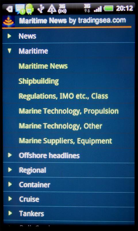Maritime News - Silver Version- screenshot