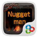 Nugget Man GO Launcher Theme icon
