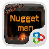 Nugget Man GO Launcher Theme