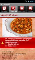 Screenshot of İnternetsiz Yemek Tarifleri