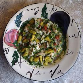 Conch Ceviche with Pineapple