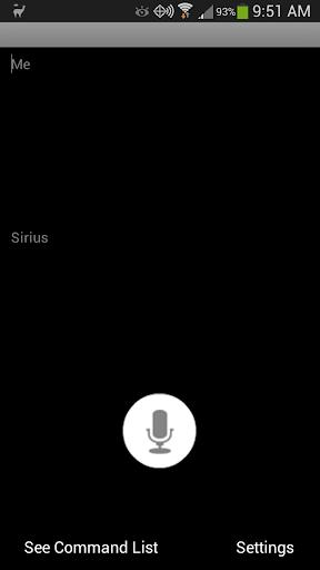 Sirius Voice English