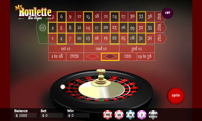 My vegas roulette