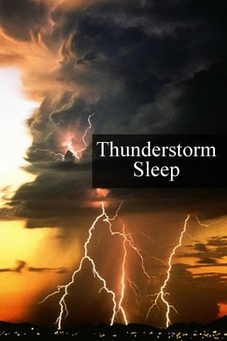 Thunderstorm Sleep sound - screenshot
