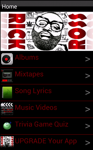 Rick Ross Albums Song Lyrics