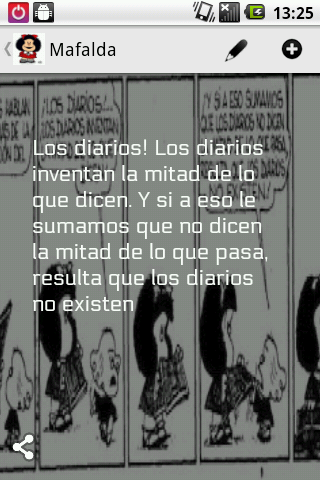 Frases de Mafalda - screenshot