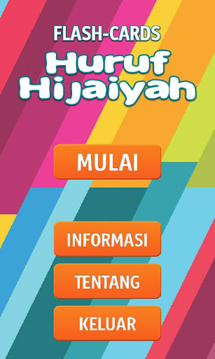 Flashcards Huruf Hijaiyah