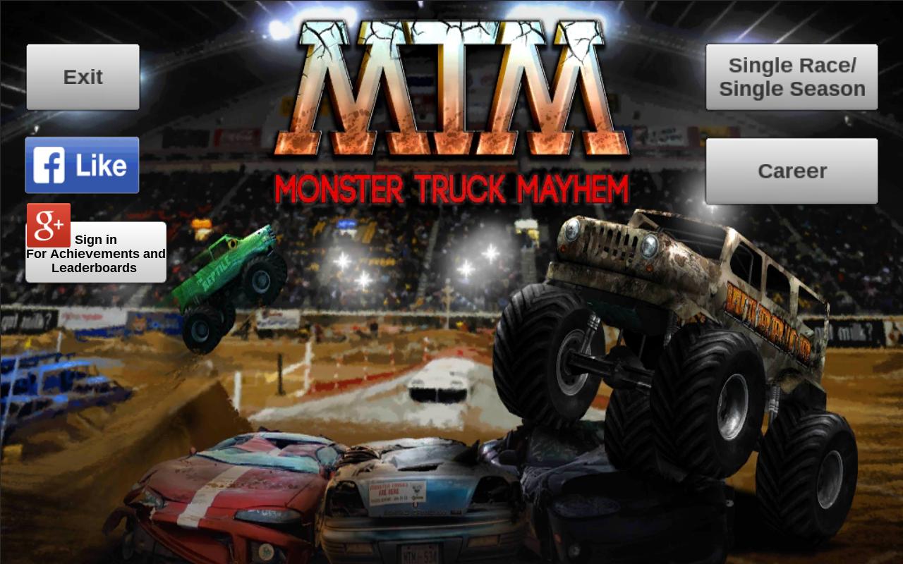 monster truck mayhem android apps on google play