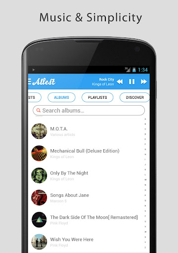 Allest - Music simplified