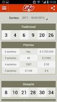 Screenshot of Loterías Argentinas