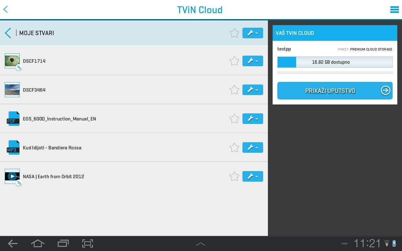 TViN Blicnet- screenshot