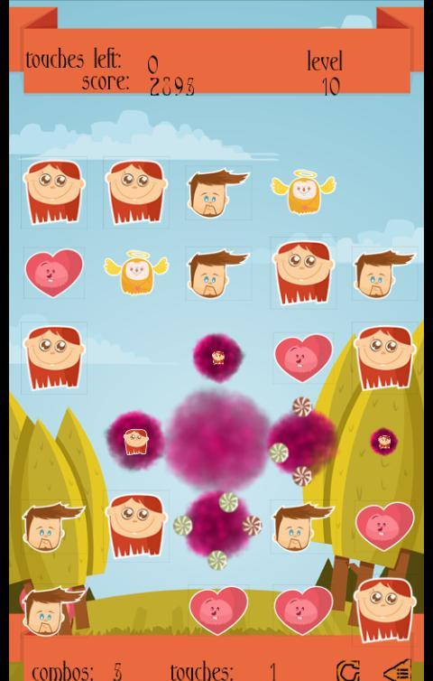 Candy Blast Valentine's - screenshot