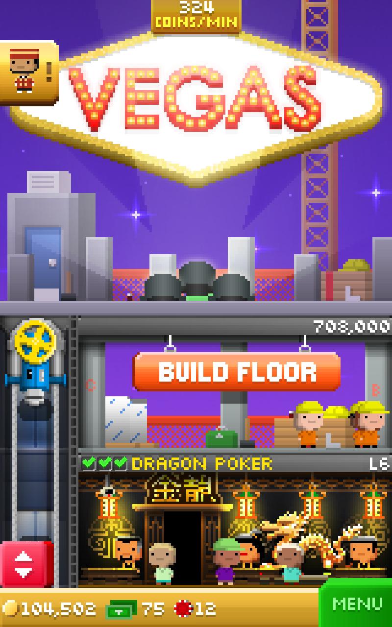 Tiny Tower Vegas screenshot #5