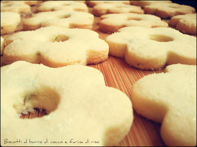 Coconut Cookie with Rice Flour Recipe