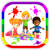 Kids Paint Color Book Free
