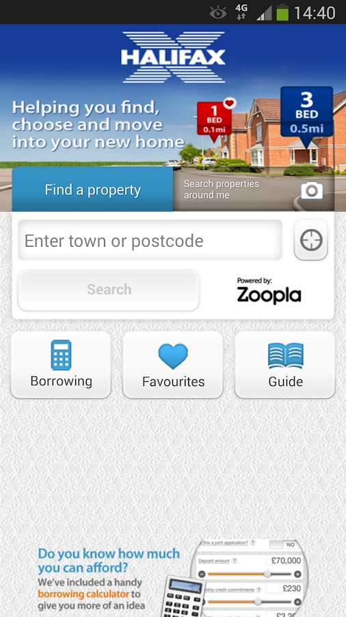 Halifax Home Finder - screenshot
