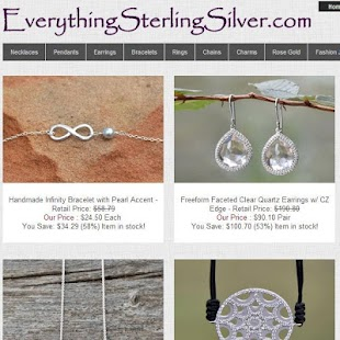 Wholesale Sterling Silver- screenshot thumbnail