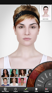 Awe Inspiring Celebrity Hairstyle Salon Android Apps On Google Play Short Hairstyles Gunalazisus