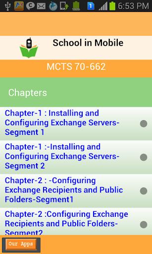 MCTS 70-662 kǎoshì zhǔnbèi