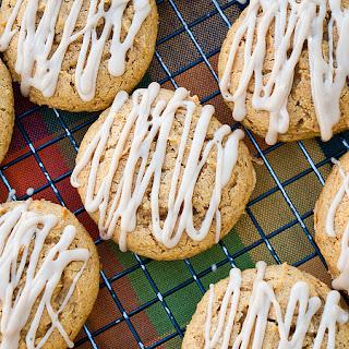 Maple Glazed Pumpkin Cookies