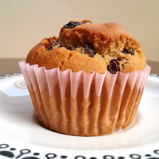 Agave Ginger Raisin Muffins (Vegan & Gluten-Free)