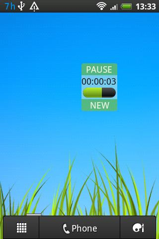 Timer Widget Pro - screenshot