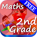 2nd Grade Math Learning Games icon