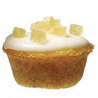 Ginger Tea Cakes with Lemon Glaze.