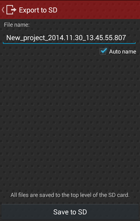 Droid Scan Lite- screenshot