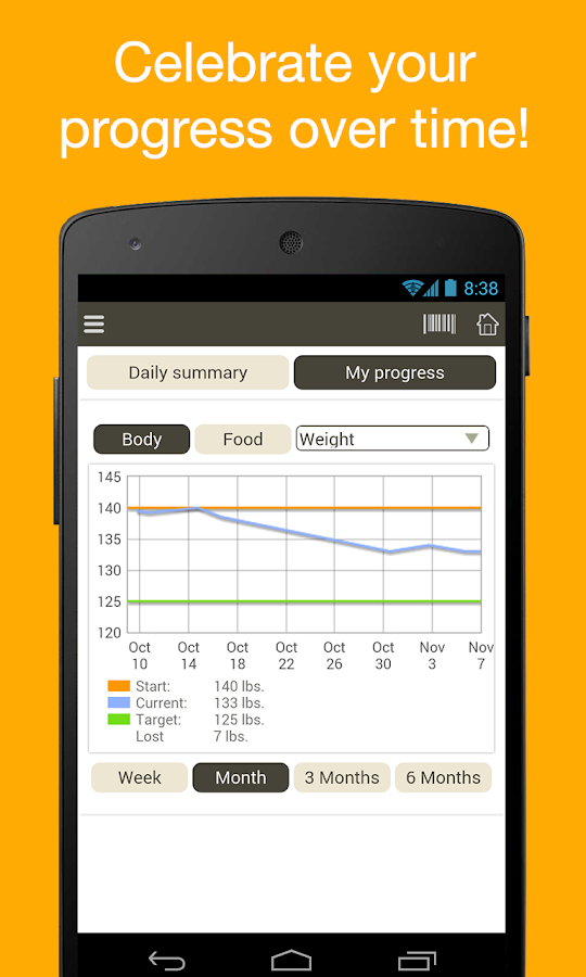 Fooducate Healthy Weight Loss - screenshot