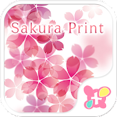 icon & wallpaper-Sakura Print-