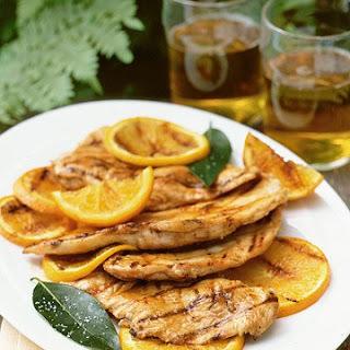 Sour-Orange Grilled Chicken Paillards.