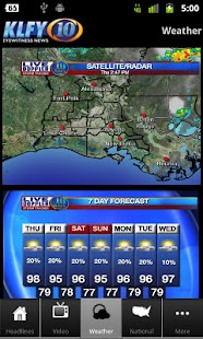 KLFY TV-10 Mobile - screenshot thumbnail