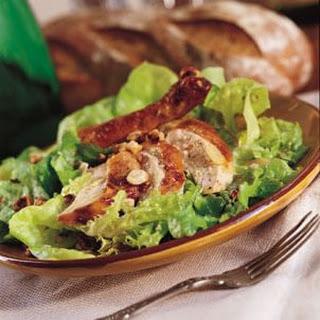 Roast Garlic Chicken and Walnut Salad (Salade de Poulet Rôti aux Noix)