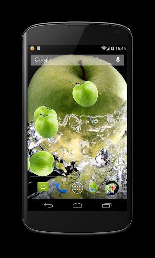 Green apple Live Wallpaper