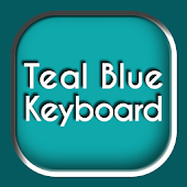 Teal Blue Keyboard