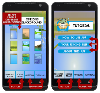 Fishing app barometric fishing hack cheats for Fish table cheat app