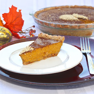 Honey'd Paleo Pumpkin PIe
