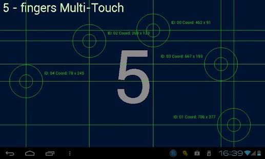 Multi-Touch test - screenshot thumbnail