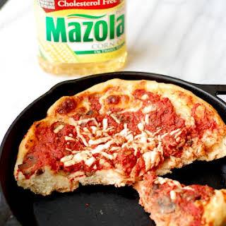Deep Dish Pizza Crust.